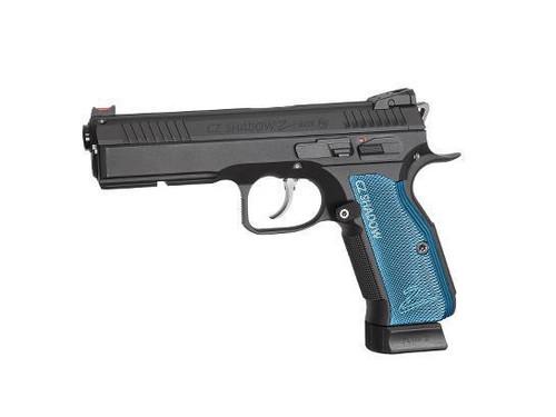 ASG CZ Shadow 2 GBB C02 Pistol, Blue  50227