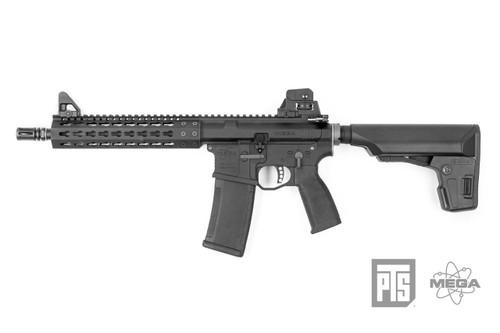 "PTS Mega Arms MKM CQB 10.5"" AR-15 GBB Rifle"