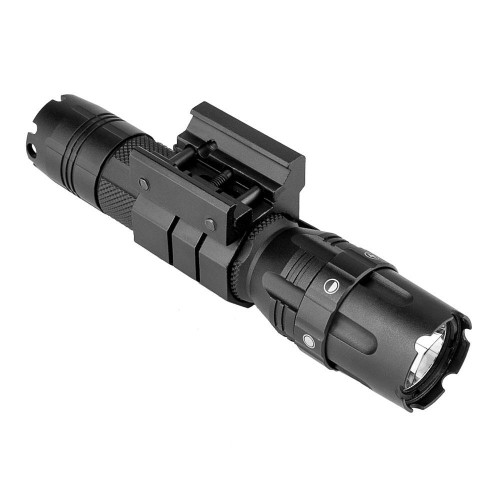 VISM by NcStar Pro Series Mod2 3w 500 Lumen Flashlight, High-Low-Strobe and Rail Mount VATFLBMM2