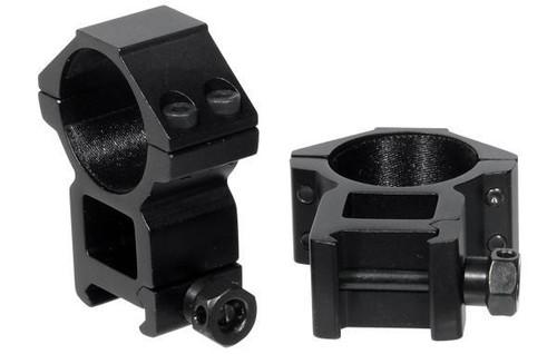 Leapers/UTG ACCUSHOT 30mm Medium Profile Picatinny Scope Rings  RGWM-30M4