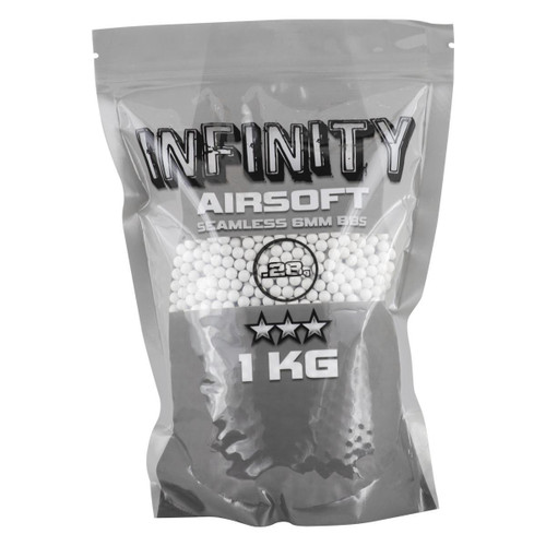 Valken Infinity .28g x 3500rnd Bag, White  101025