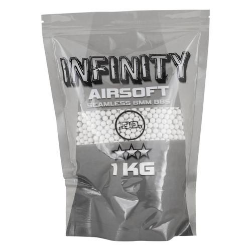 Valken Infinity .30g x 3300rnd Bag, White  101032