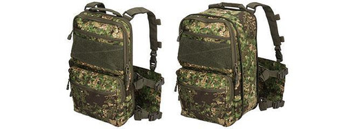 Lancer Tactical QD Chest Rig w/ Lightweight Back Pack
