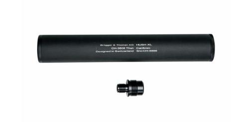 "ASG B&T HUSH XL 9.7"" Universal Barrel Extension Mock Suppressor  17593"
