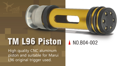 Action Army L96 Piston (45degree) for TM   B04-002