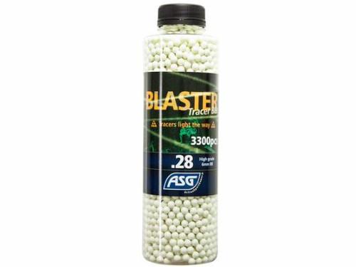 ASG Blaster TRACER .28g x 3300rnd Bottle, Green  19408