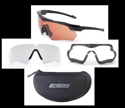 ESS Crossbow Suppressor Thin Temple Frame Kit