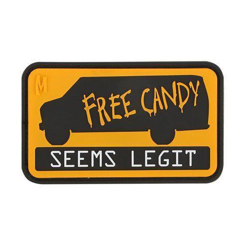 Free Candy PVC Morale Patch