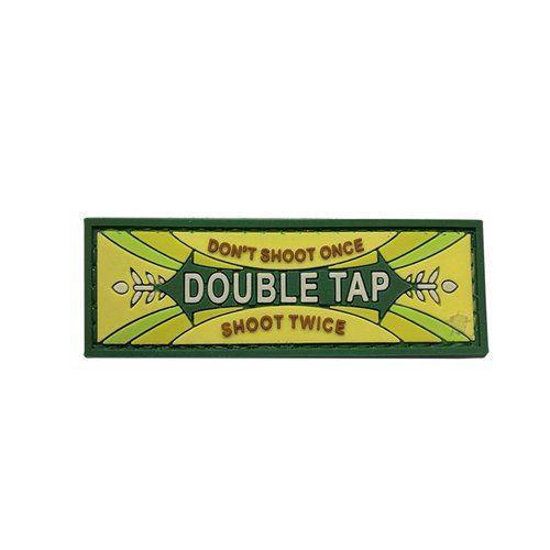 Double Tap PVC Morale Patch