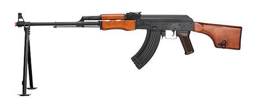 LCT RPK Full Metal and Wood Light Machine Gun w/ Bi-Pod  LCT-RPK-AEG