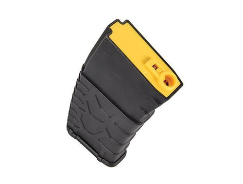 Classic Army 160rnd VMC Molded Polymer Mid-Cap M4 Magazine (Black/Yellow)