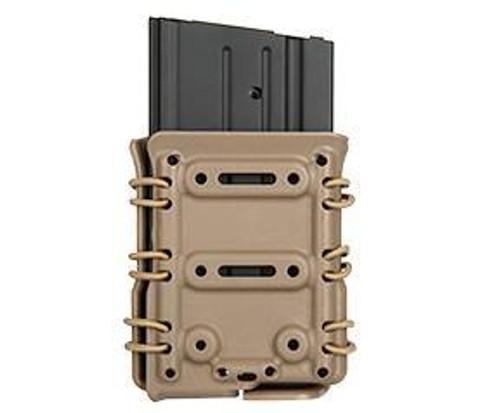 High Speed Polymer Interchangeable Molle Pouch (M4, SR25, M14, MK17)  CA-1216BM