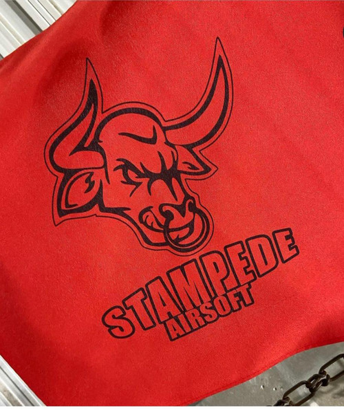 Stampede BRANDED Dead Rag w/ Caribiner Clip and Velco