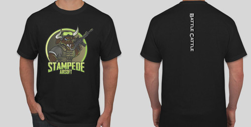 2018 Stampede Battle Cattle T-Shirt