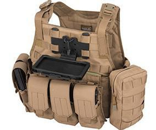 Lancer Tactical iPhone XS Max MOLLE Mobile Flip-Down Case