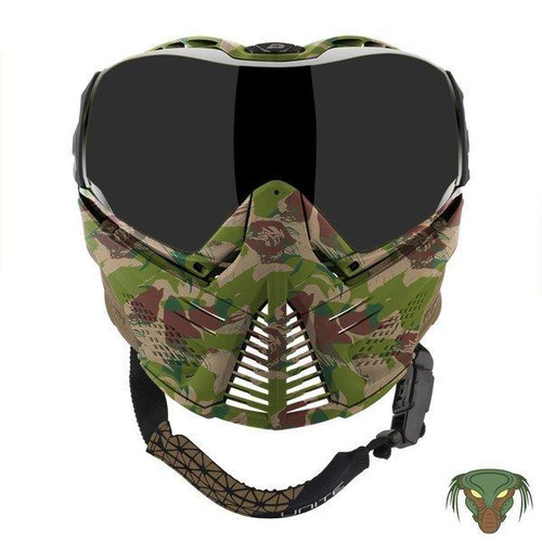 Push Camo Unite Full Face Low Profile Goggle w/ Protector Case