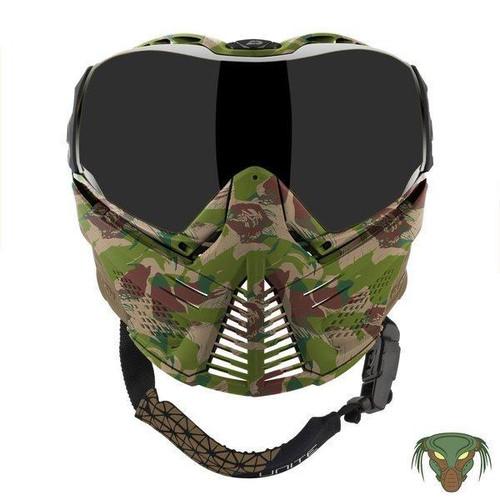 Push Camo Unite Full Face Low Profile Goggle w/ Protector Case