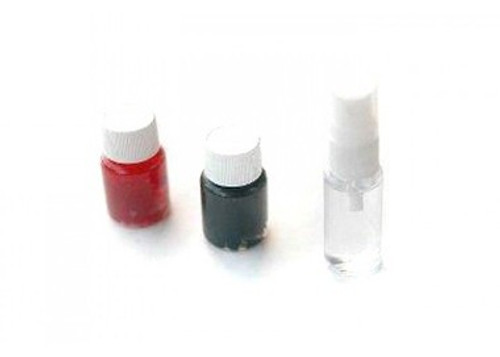 Echo1 Grease Set, Gears (blk), Bearing (red), Air Seal (clr)