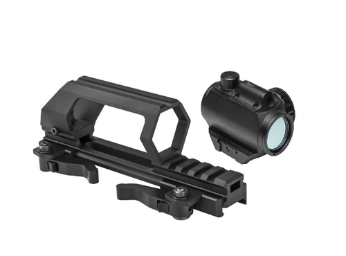 VISM by NcStar Gen.II Optic Mount / Carry Handle & Micro Green Dot & Laser  VMDCH/VDGRLB-A