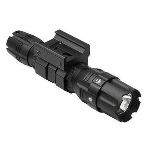 VISM by NcStar Pro Series GREEN LED 250 Lumen Flashlight, Weaver Mount  VATFLBGM