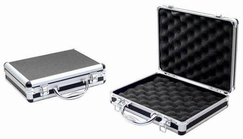 "Deluxe Aluminum 12"" Hard Pistol Case   AC-5133"
