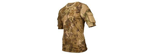 Lancer Tactical HIGHLANDER Specialist Adhesion Arms T-Shirt   CA-2741H