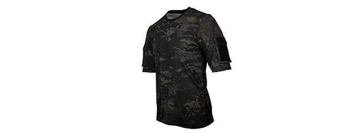 Lancer Tactical MC BLACK Specialist Adhesion Arms T-Shirt  CA-2741MB