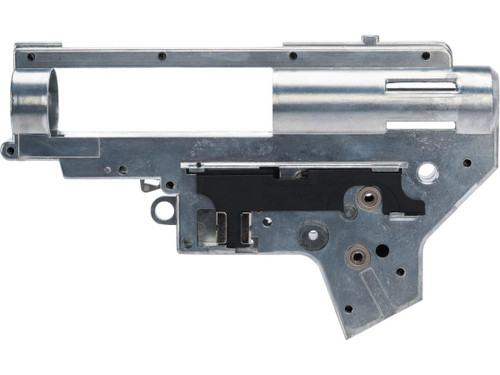 """APS """"Silver Edge"""" Ambidextrous 8mm V2 Gearbox Shell"""