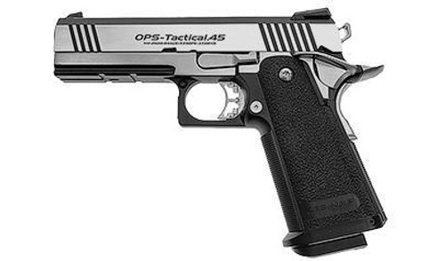 Tokyo Marui 4.3 Hi-Capa Double Stack 1911 Custom GBB Pistol, OpsTac.45   142245