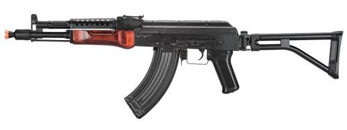 LCT G-04 Soviet Replica AK47 NV w/ Folding Stock and Real Wood Handguard  LCT-G-04-AEG