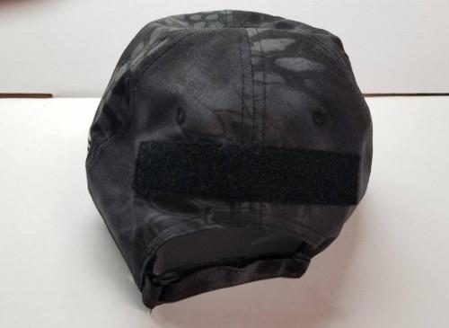 ExFog Tactical Hat w/ Velcro Attachment in Kryptek Black Typhon