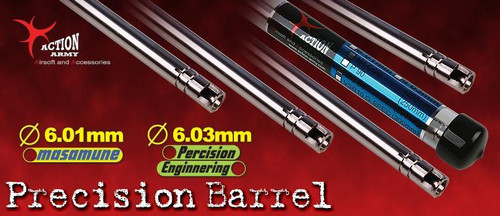 Action Army 6.01ID Excel Precision Inner Barrel for AEG