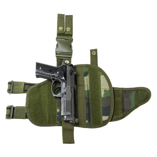 VISM by NcStar Drop Leg Tactical Pistol Holster  CVDLHOL2955