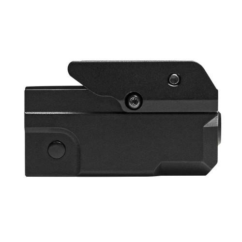 VISM Compact Pistol Blue Laser w/ Strobe and KeyMod Undermount  VAPRLSBLKM