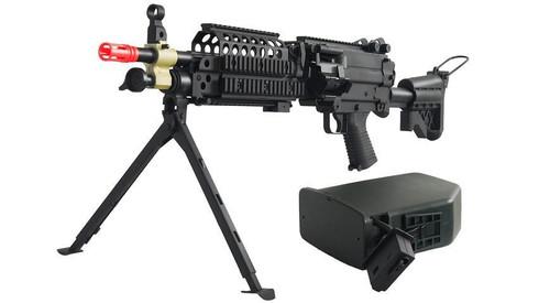 A&K MK46 / M249 SPW Full Metal Machine Gun  IU-MK46-NB