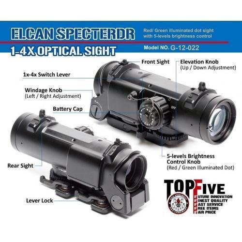 G&G Elcan Specter DR 1-4x Optical Sight     G-12-022