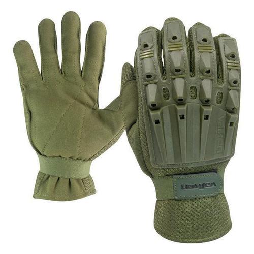 Valken Alpha Full Finger Armored Plastic Back Glove