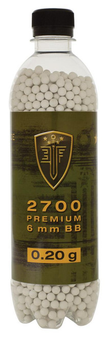 Elite Force .20g Bottle, White