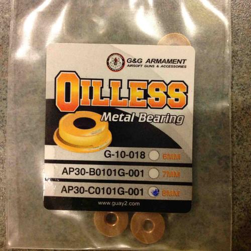 G&G Oilless Metal Bearing, 8mm     G-10-074