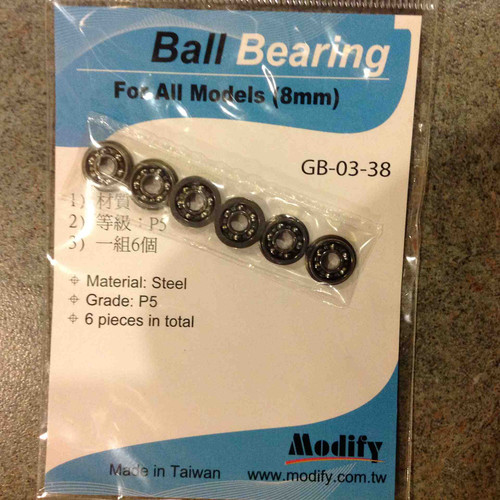 Modify 8mm Steel Ball Bearing     GB-03-38