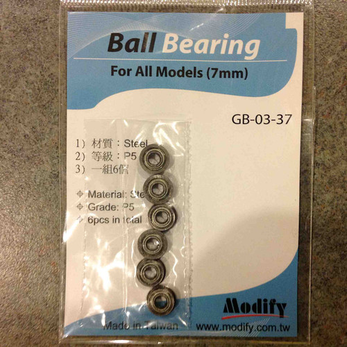 Modify 7mm Steel Ball Bearing     GB-03-37