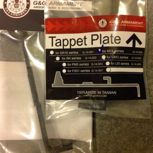 G&G Tappet Plate for M14     G-14-004
