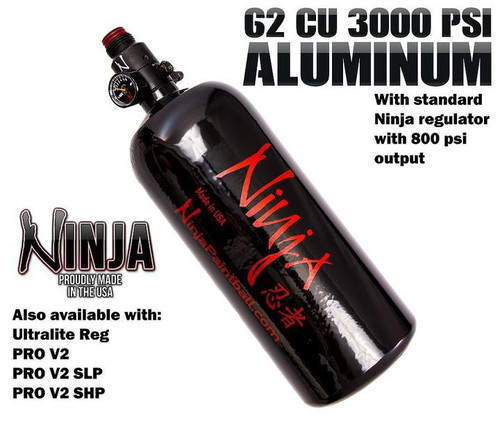 Ninja 62/3000 Aluminum Tank     NINJA362