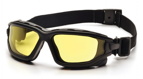 Pyramex I-Force Full Seal, Anti-Fog, Dual Lens, Ballistic & ANSI Rated Goggle