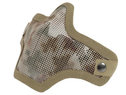 Bravo V1 Strike Steel Mesh Face Mask