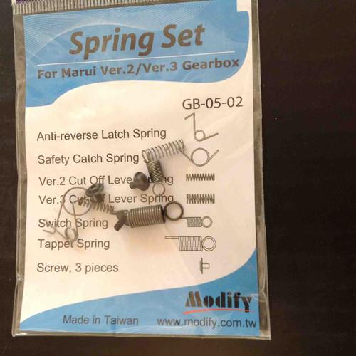 Modify Spring Set V2/V3 Gearbox     GB-05-02