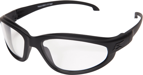 Edge Tactical Falcon TT Thin Temple w/ Military Grade Vapor Shield Anti-Fog System and Ballistic Lens