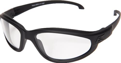 Edge Tactical Falcon TT Thin Temple w/ Military Grade Vapor Shield Anti-Fog System and Ballistic Lens