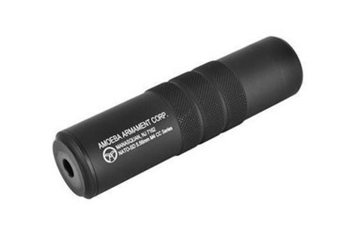 Amoeba Barrel Extension, Black  ARS-SIL-02-BK