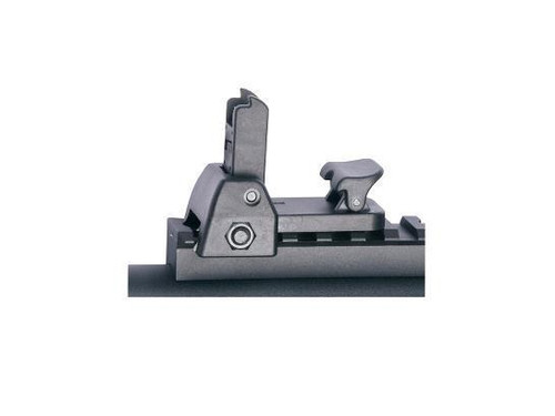 ASG Detachable Front & Rear Flip-Up Sight   17275